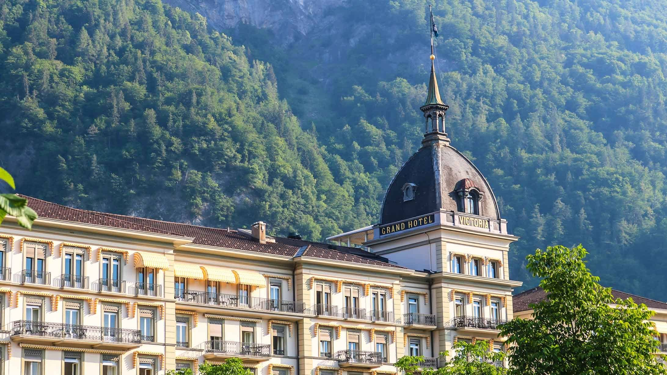 Das Hotel Victoria-Jungfrau