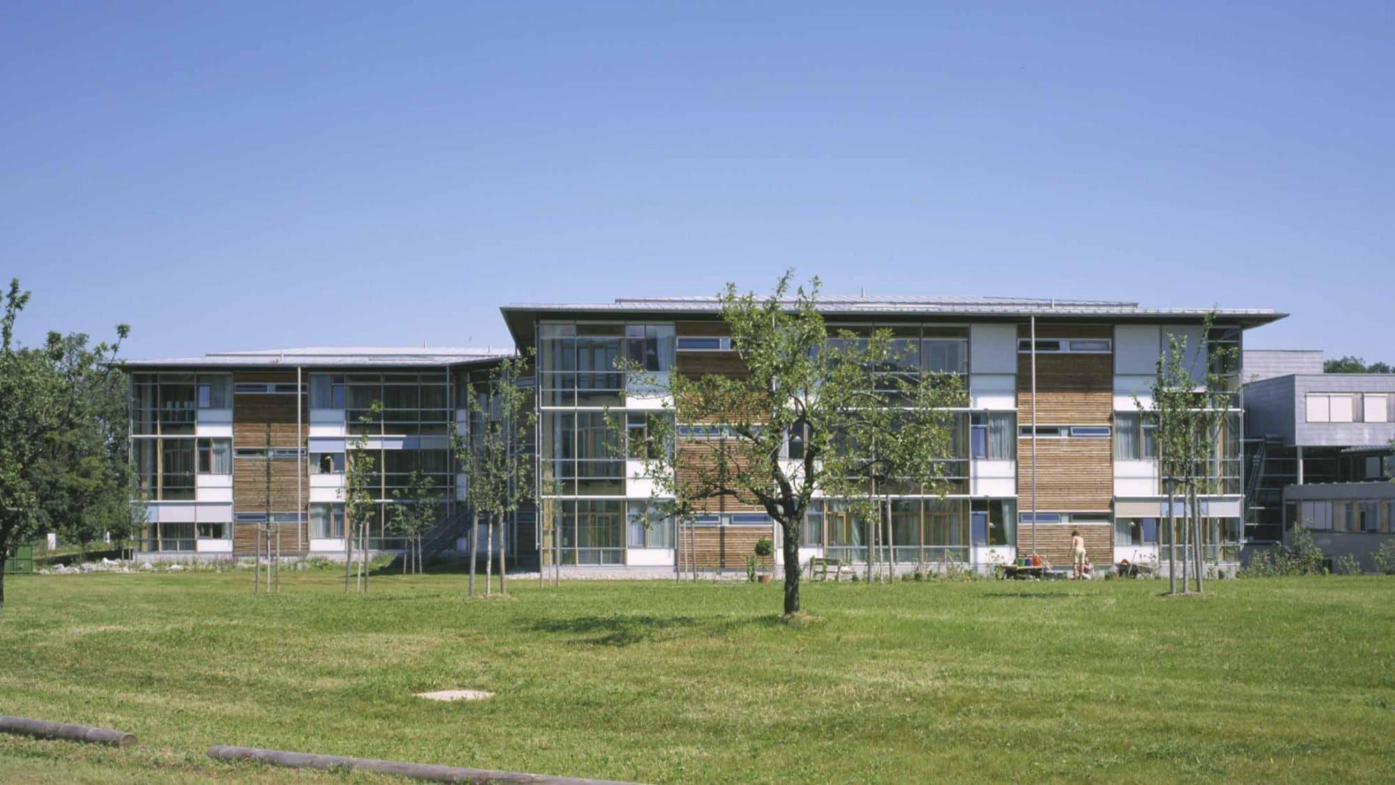 Beispiel Aussenhäuser Spital München