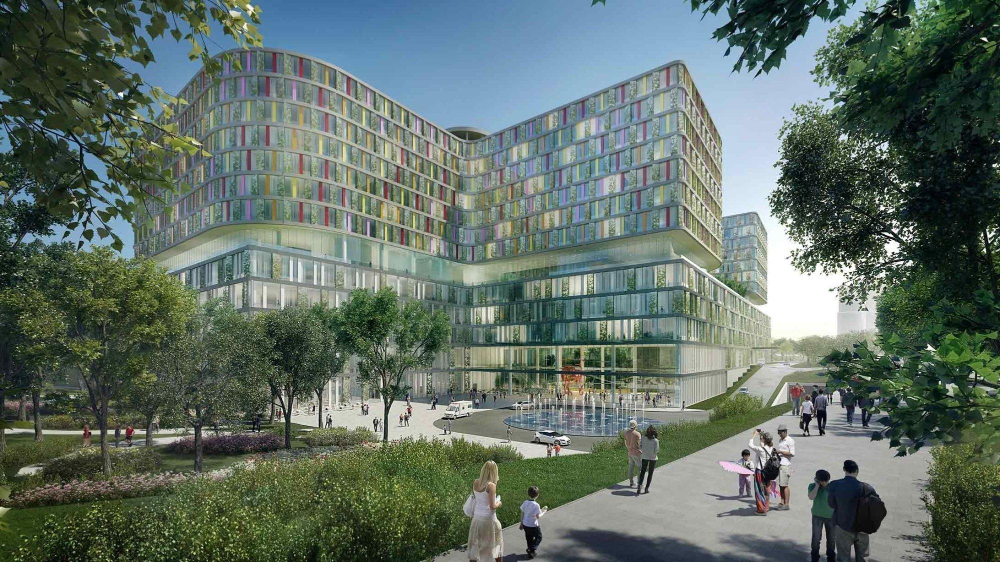 Healing Architecture am Beispiel des Spitals in Shenzhen