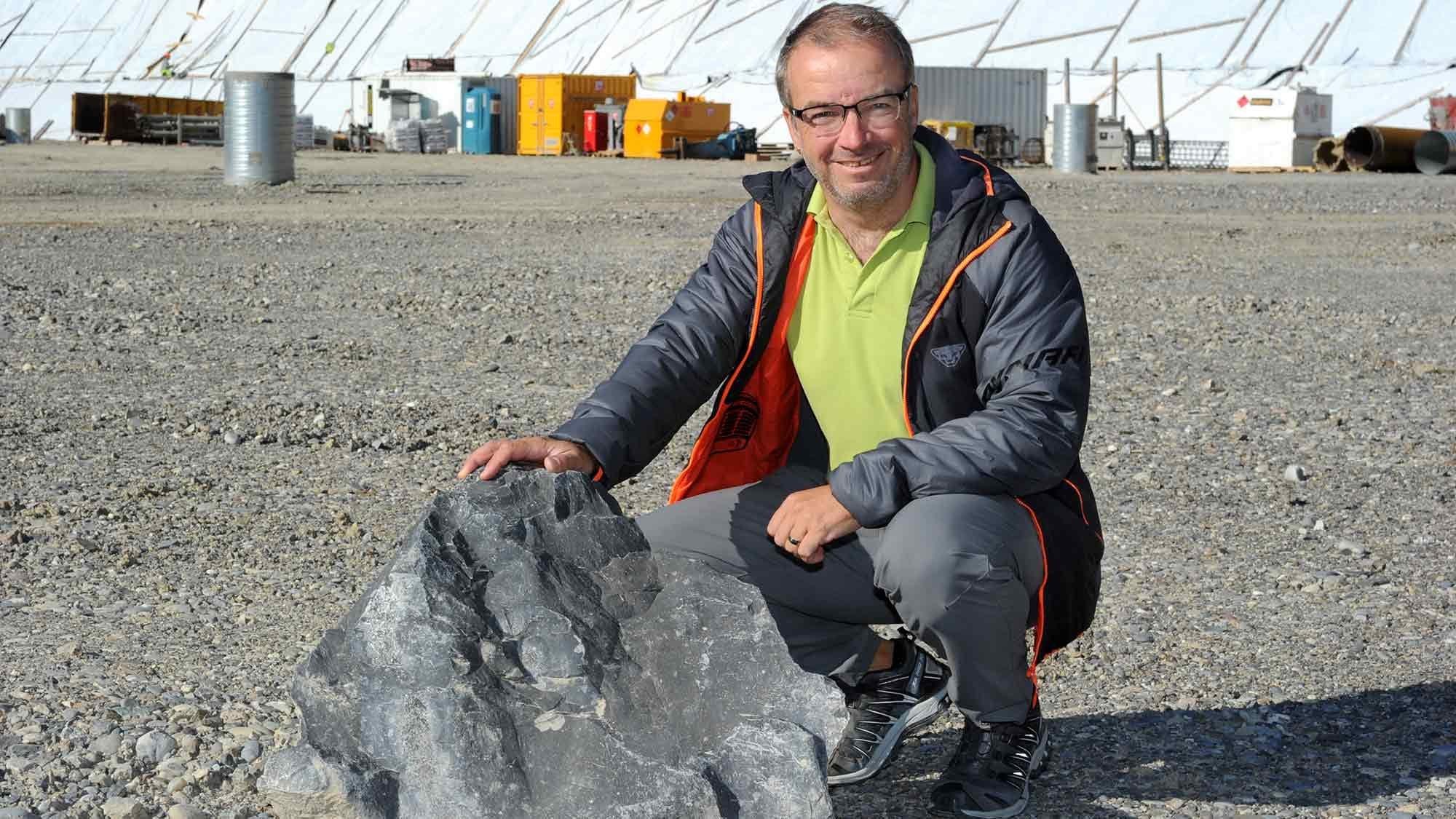 Geologe Heinz Vetter