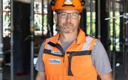 Stefan Kronenberg, Sicherheitsbeauftragter auf der Baustelle