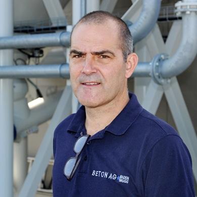 Christian Brunner, Geschäftsführer der Beton AG Baden Brugg