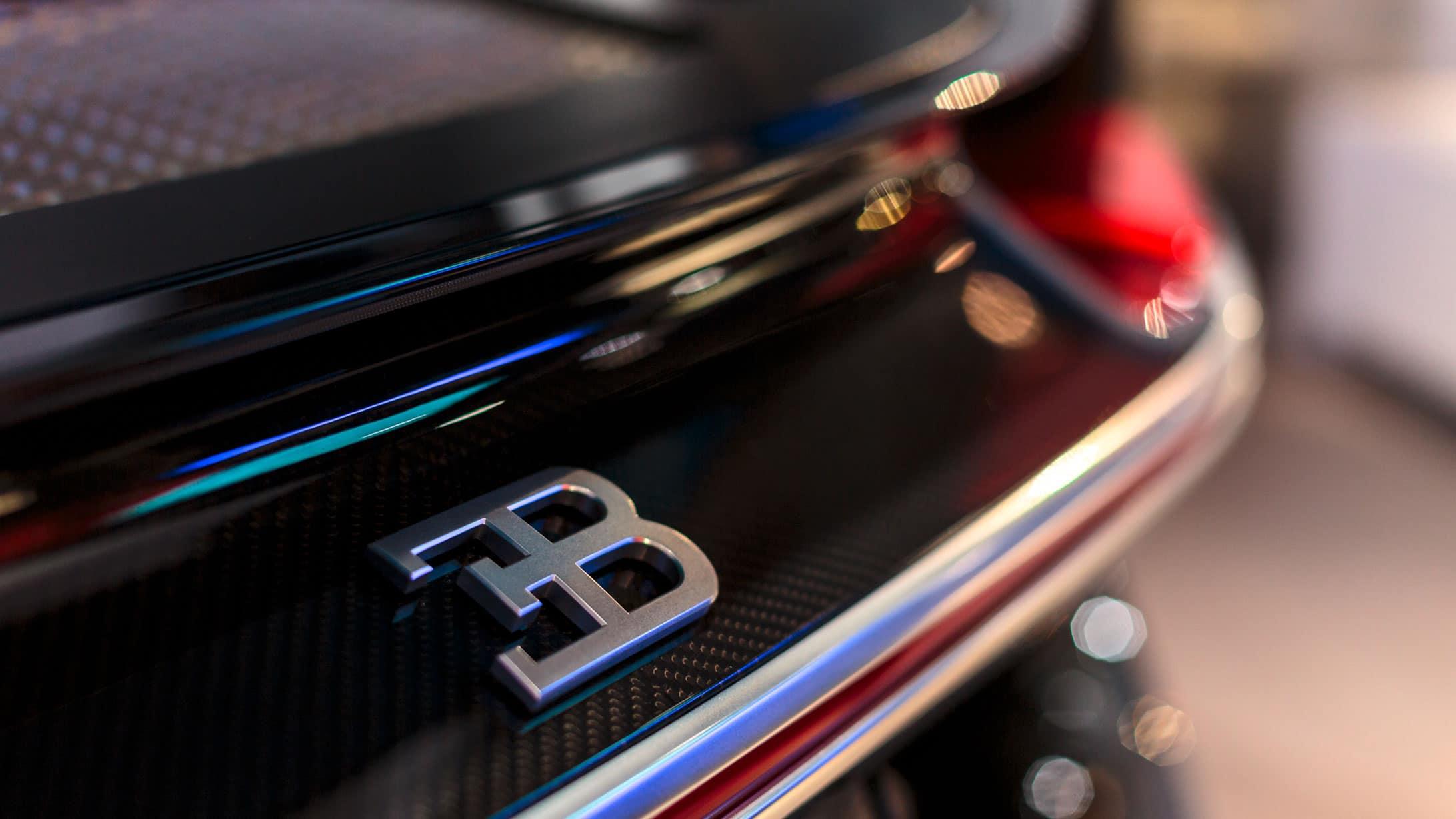 Blick auf ein Bugatti