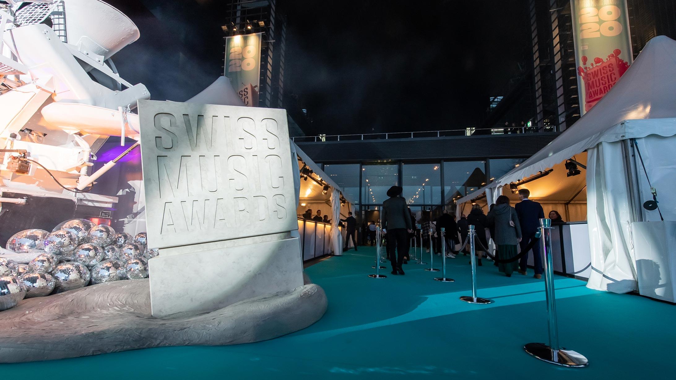 Eingang Swiss Music Award