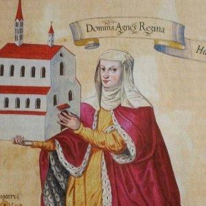Gemälde der Königin Agnes von Ungarn