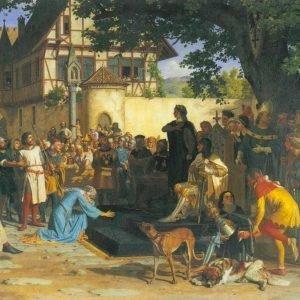 Gemälde des Siechenhaus von Baden