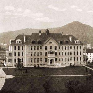 Das städtische Spital 1912