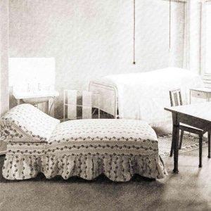 Ein Patientenzimmer 1938